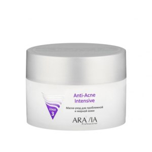 Маска для лица ARAVIA Маска-уход для проблемной и жирной кожи Anti-Acne Intensive, 150 мл фото