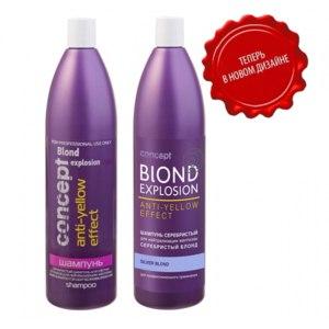 Оттеночный шампунь блонд