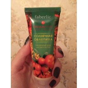 Крем для рук и ногтей Faberlic Питательный Солнечная облепиха фото