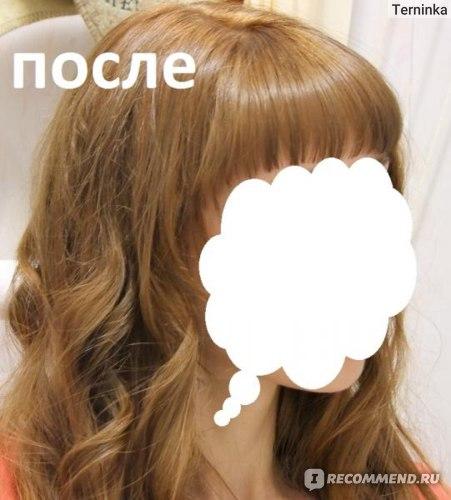 янтарный русый цвет волос