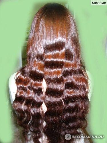 фото сделано для отзыва о другом средстве, но цвет волос-это результат окрашивания индийской хной