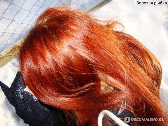У меня натуральный рыжий цвет волос фото