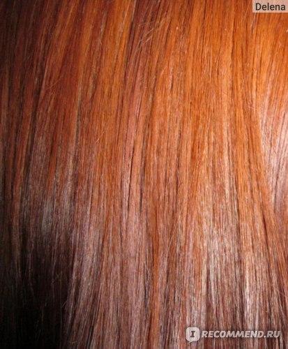 Волосы спустя около месяца