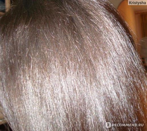 До и после цвет волос