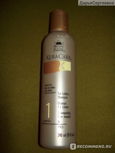 Шампунь Avlon Keracare 1St Lather Shampoo (240ml) фото