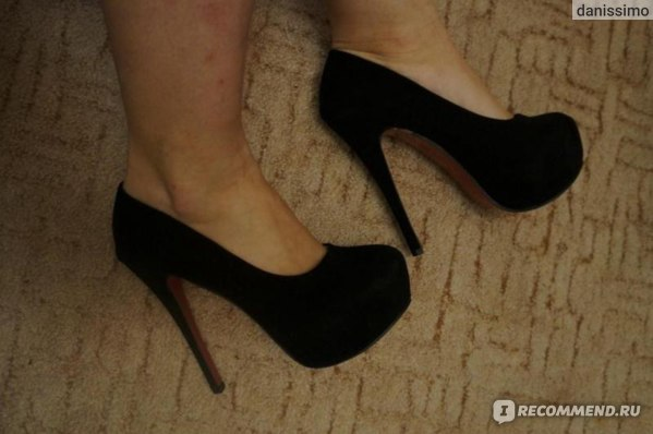 Туфли на шпильке 10 см