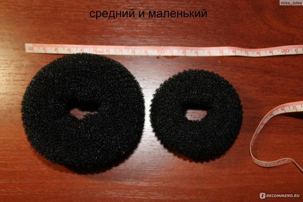 Бублик для прически сделать из носка