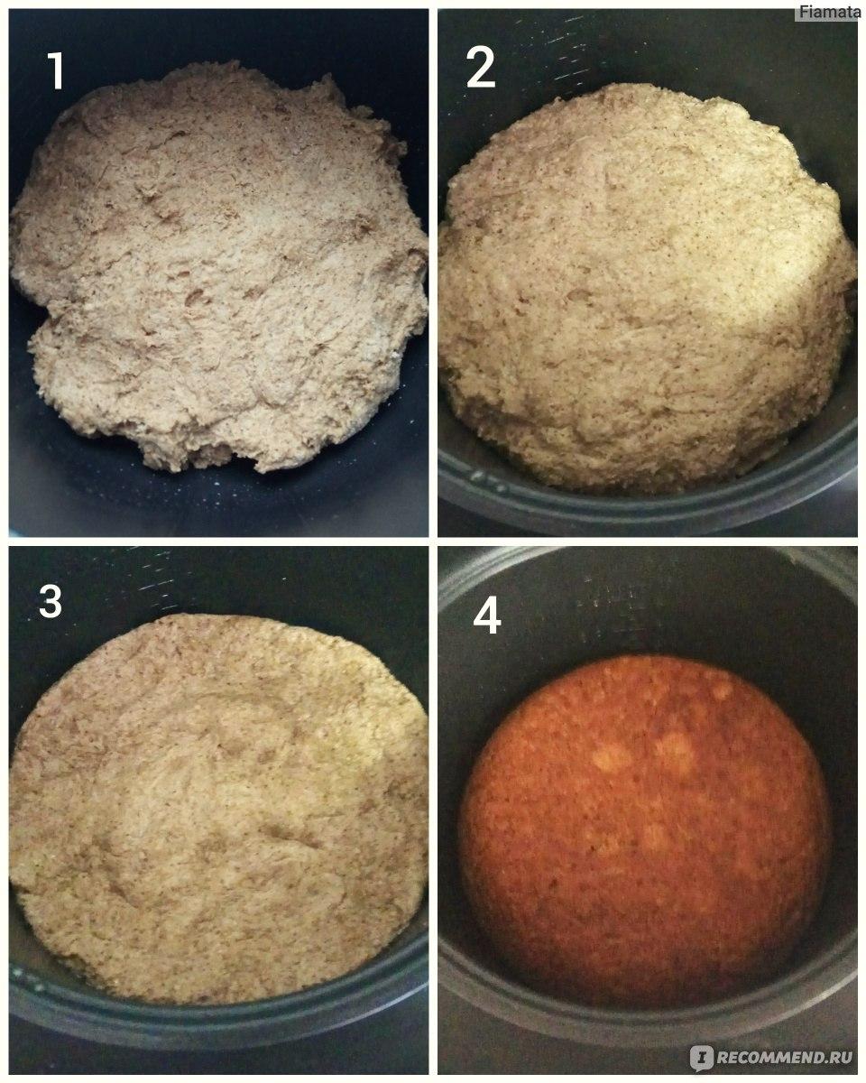 хлеб в мультиварке из готовой смеси