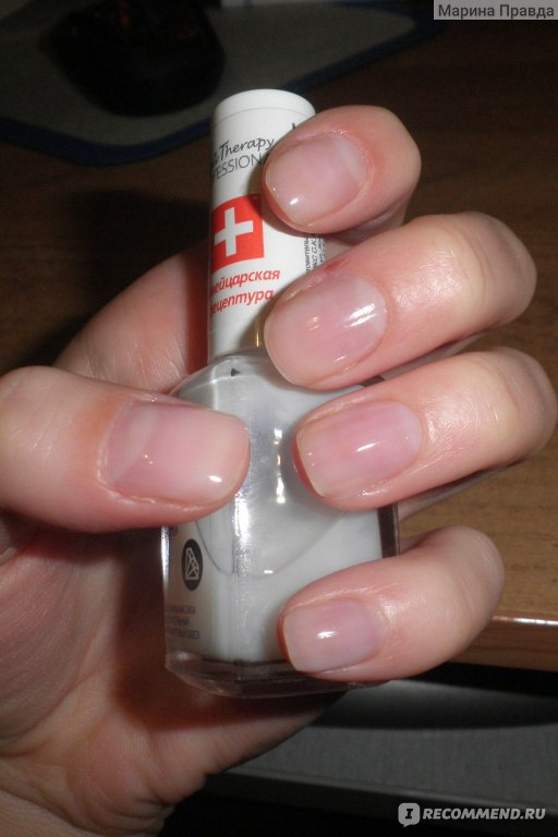 Как сделать маникюр с бесцветным лаком и блестками