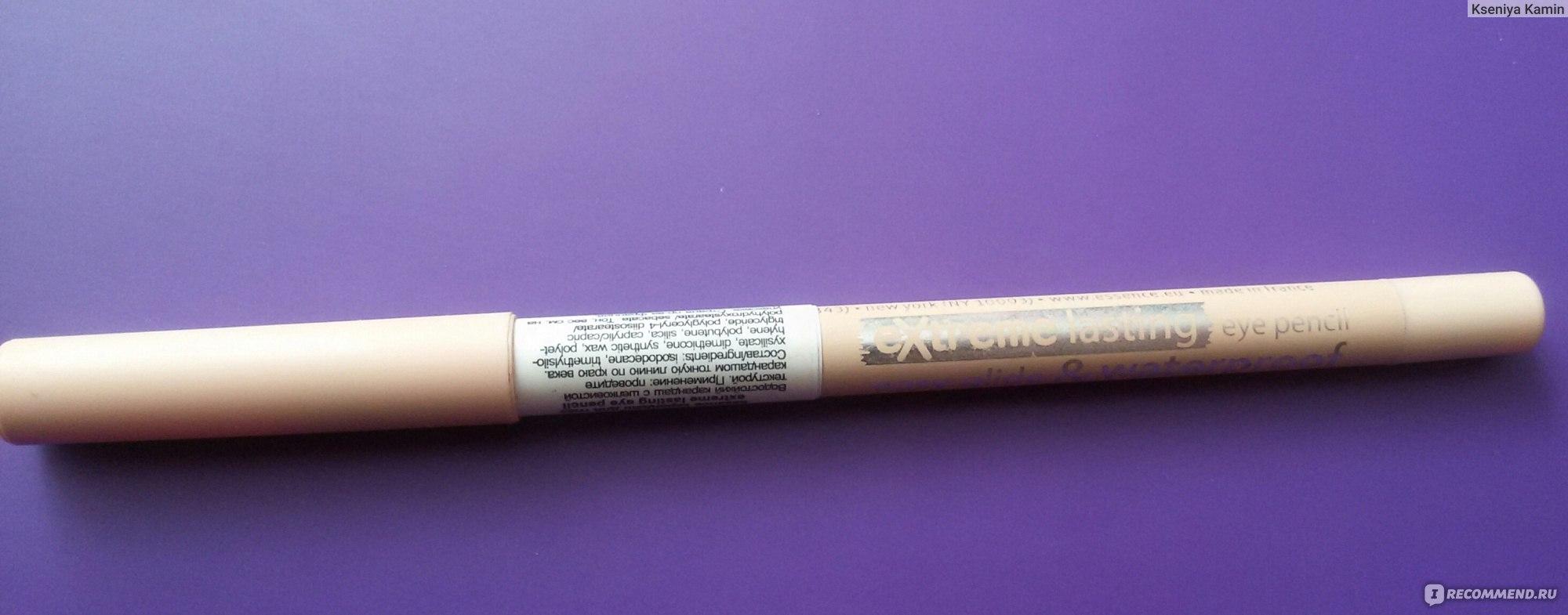Водостойкий карандаш для макияжа глаз