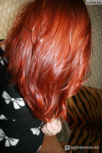 Как сделать волосы рыжими хной