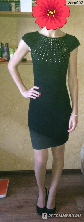 73409e3442a Платье OGGI 14007020-1 16564 2997Р - «Маленькое черное платье с ...