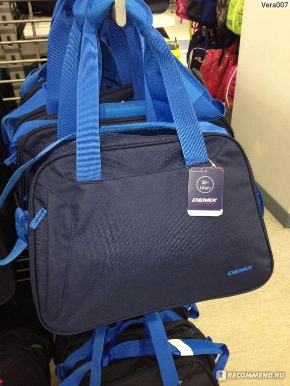 97dcf655cbca Сумка Demix CUCB07 - «Отличная спортивная сумка из Спортмастера для ...