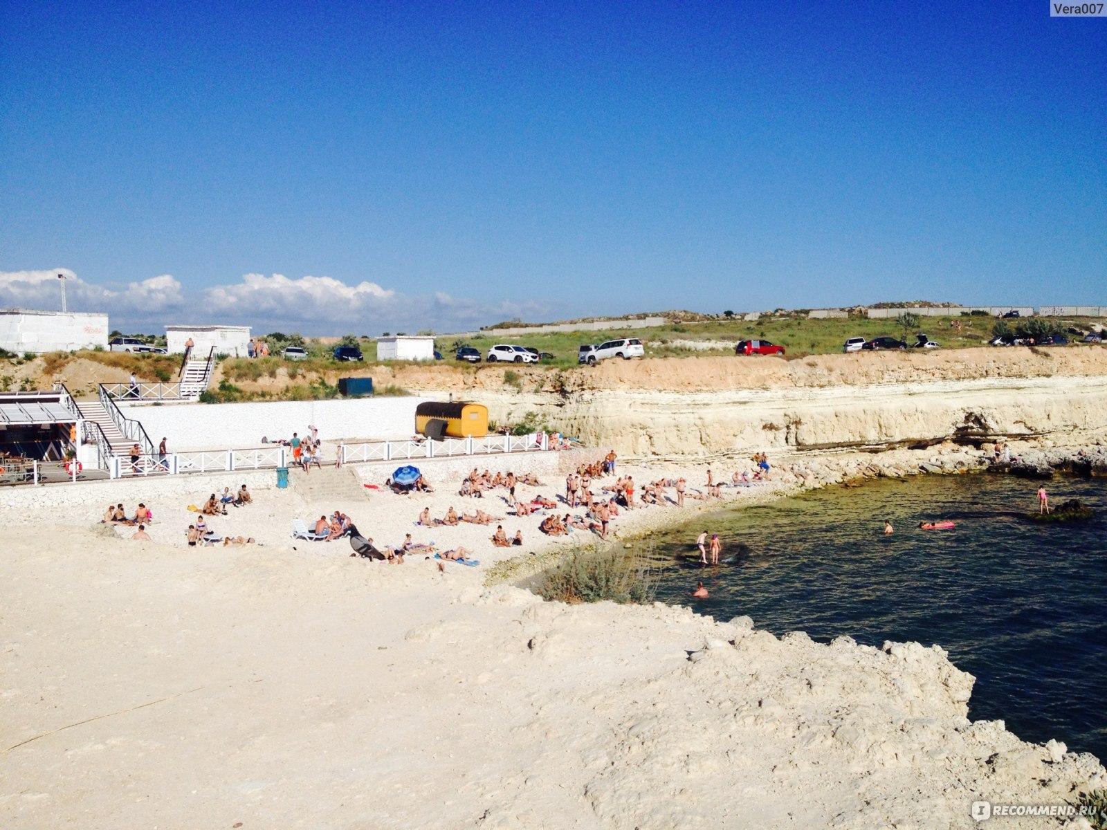 Пляж голубой бухты в севастополе фото