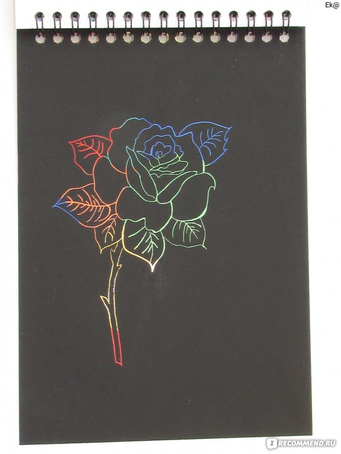 Рисунки на блокнотах гравюр