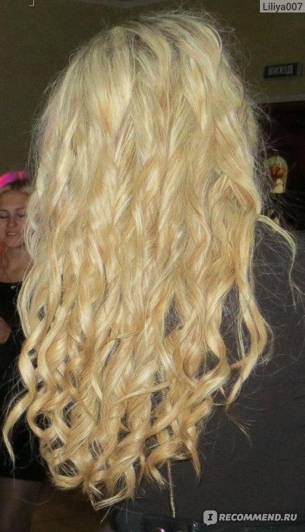 Как из мелирования перейти в блондинку