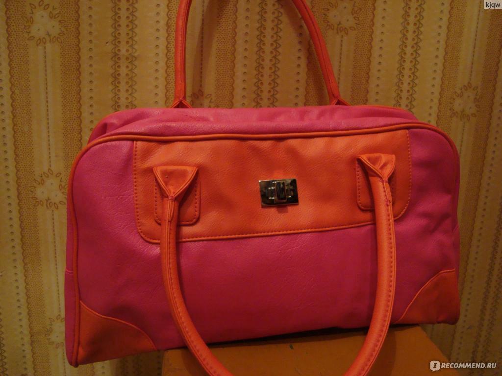 Женская лаковая сумка красная: 485 грн - большие сумки