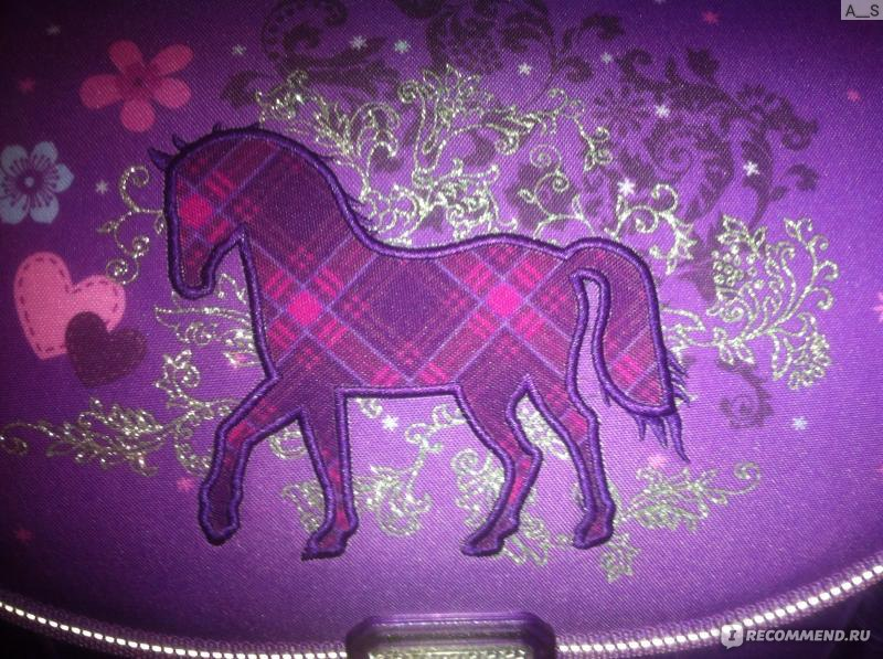 711d3fa6a4a9 Школьный ранец/рюкзак Herlitz Midi Plus - Lucky horse (с наполнением) фото
