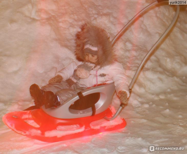 Детские санки khw snow ba