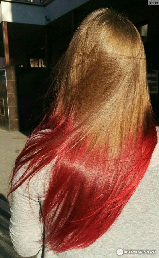 Покраска волос в домашних условиях тоником 75