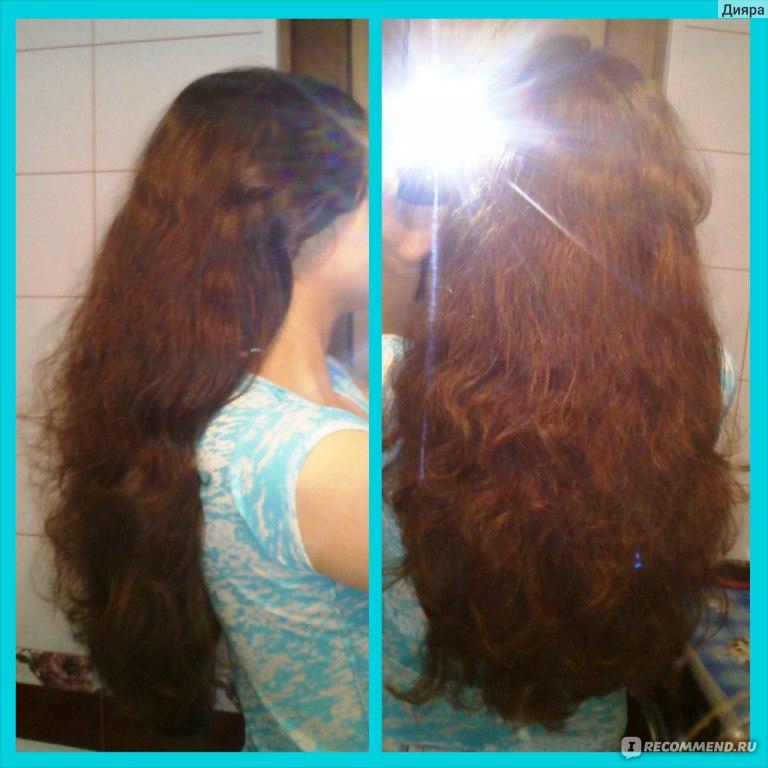 Пушистые сухие волосы