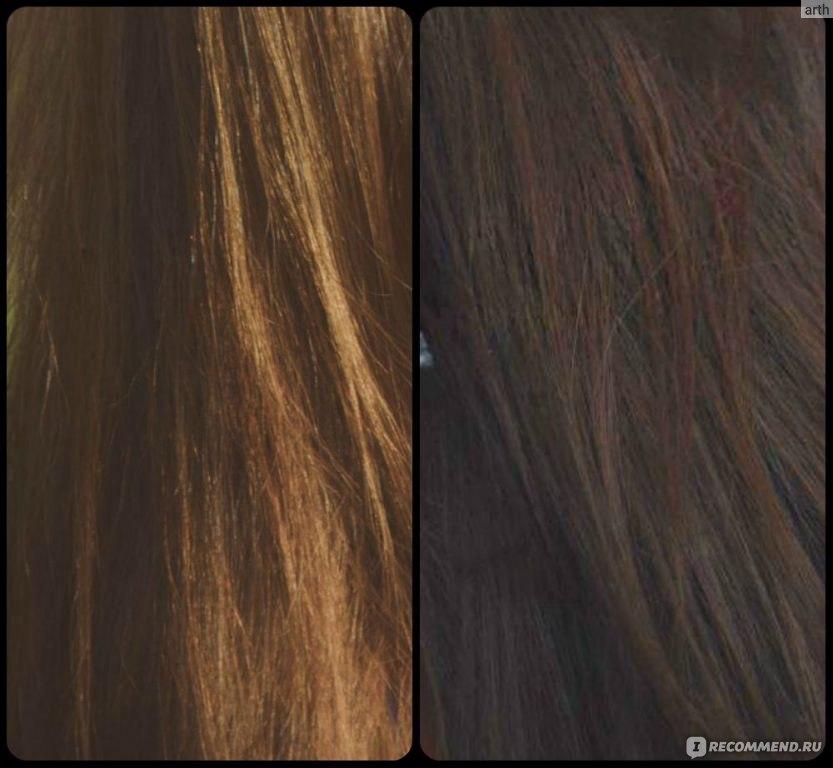 Цвет волос от коры дуба