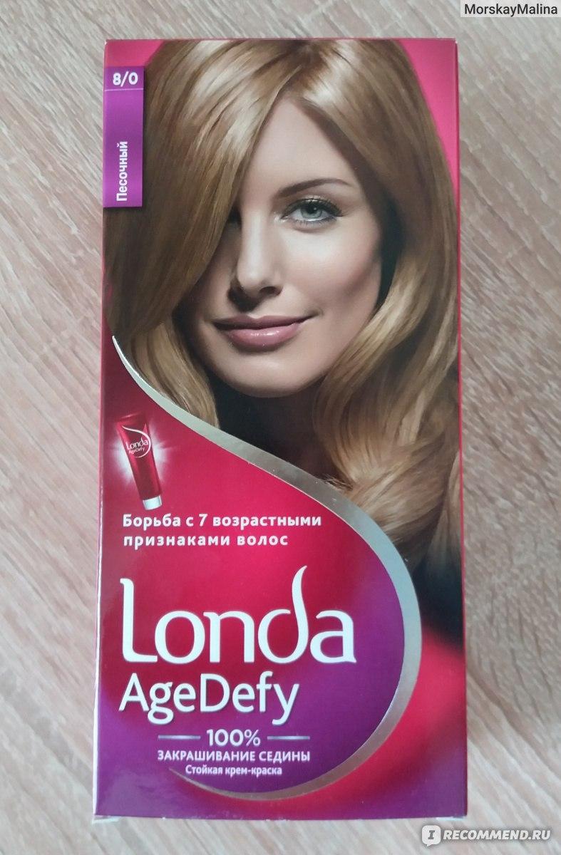 Пепельно русый цвет волос лонда
