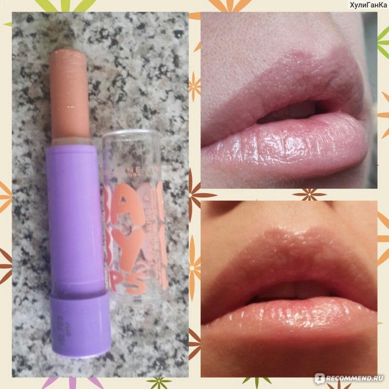 Бальзам для губ baby lips персик