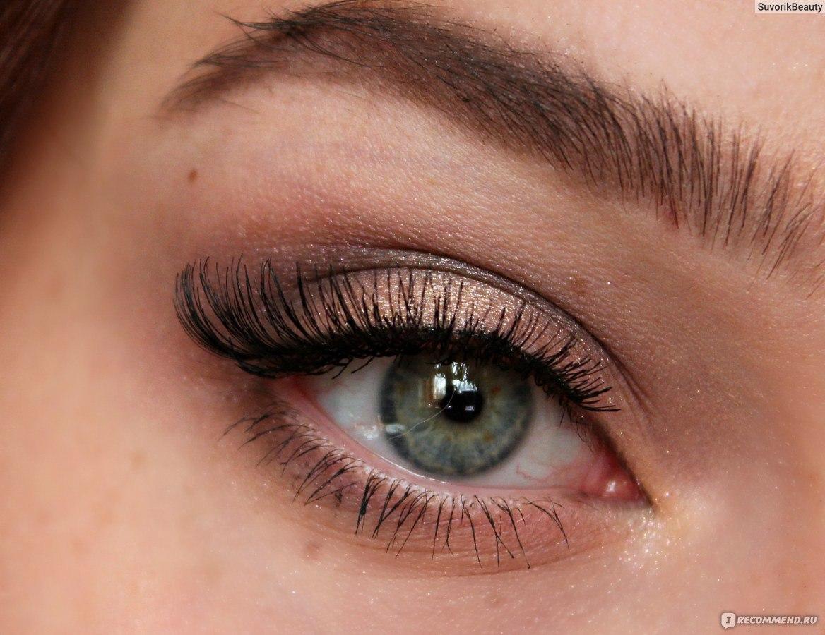 Макияж с затемненными уголками глаз