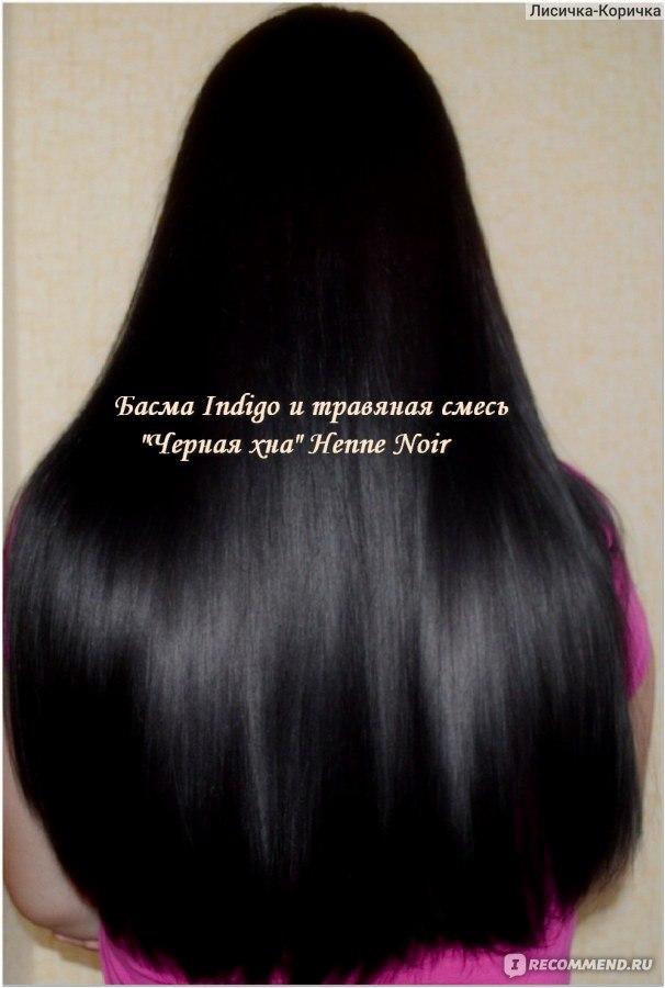 Как сделать темные волосы с хной