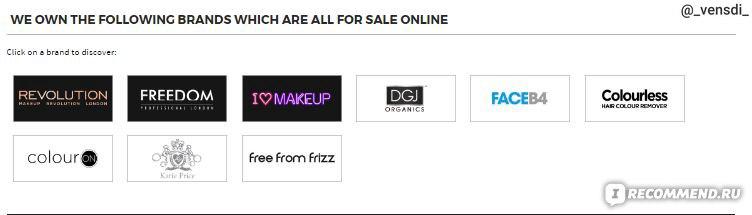 Английские сайта косметика доставка в россию