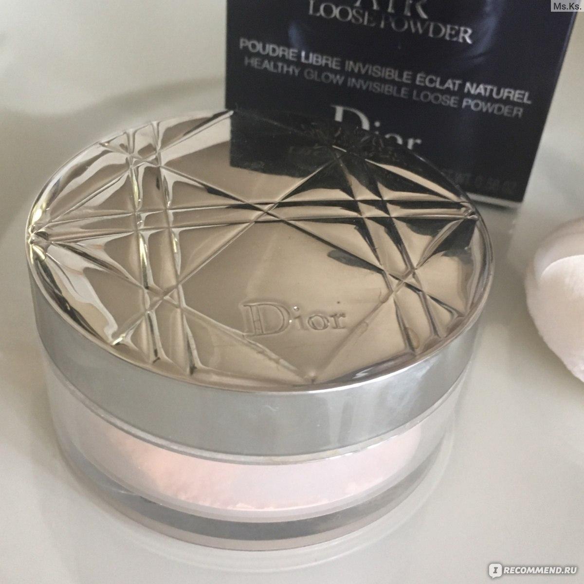 Отзывы о Осветляющая пудра для лица - Dior Diorskin