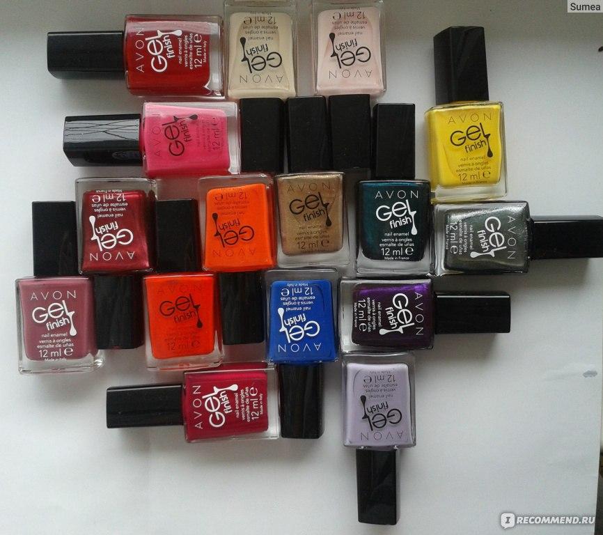 Avon лак для ногтей гель эффект отзывы косметика мак купить ставрополь