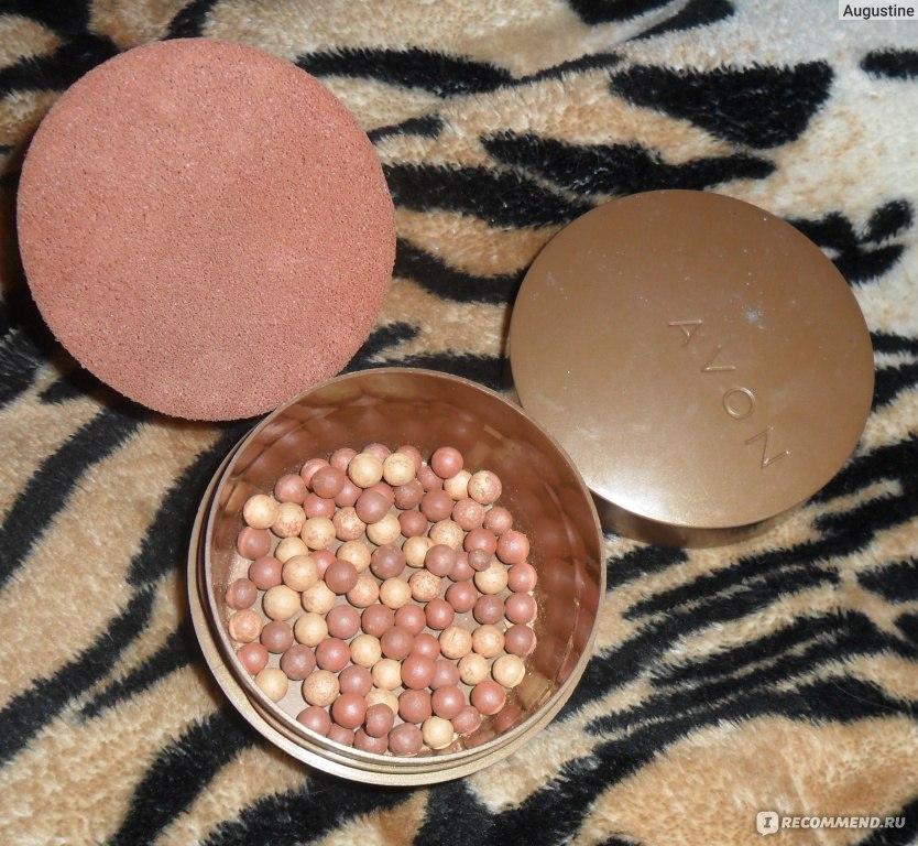 Avon румяна в шариках бронзовый косметика купить в кирове