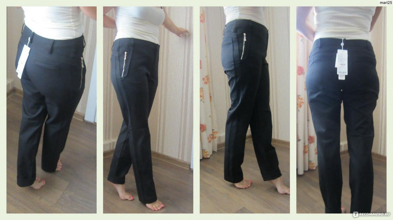 Фото женских поп в брюках 5 фотография