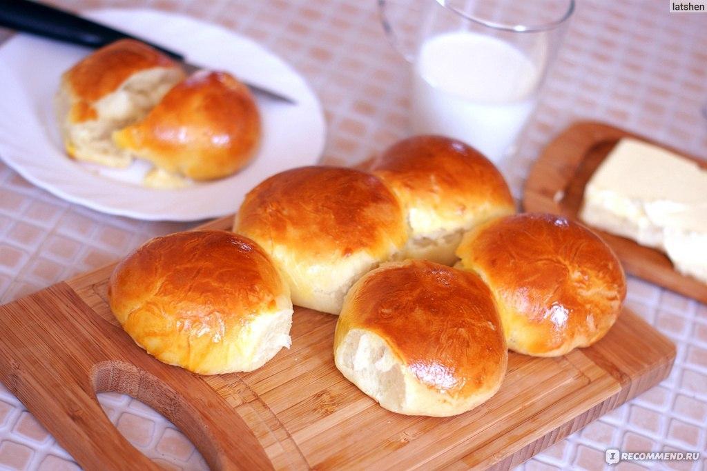 Рецепт тесто для булочек с сухими дрожжами