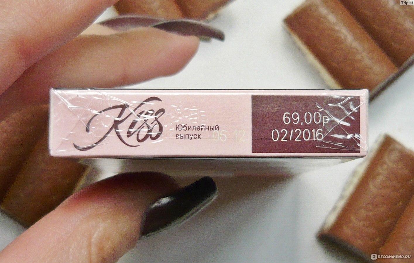 Сигареты kiss brown купить купить ароматизаторы для жидкости в электронную сигарету