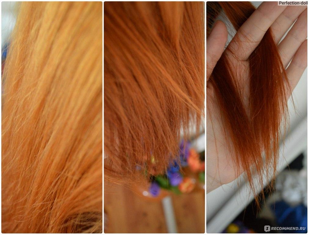 Как осветлить волос после окрашивания в домашних условиях 536