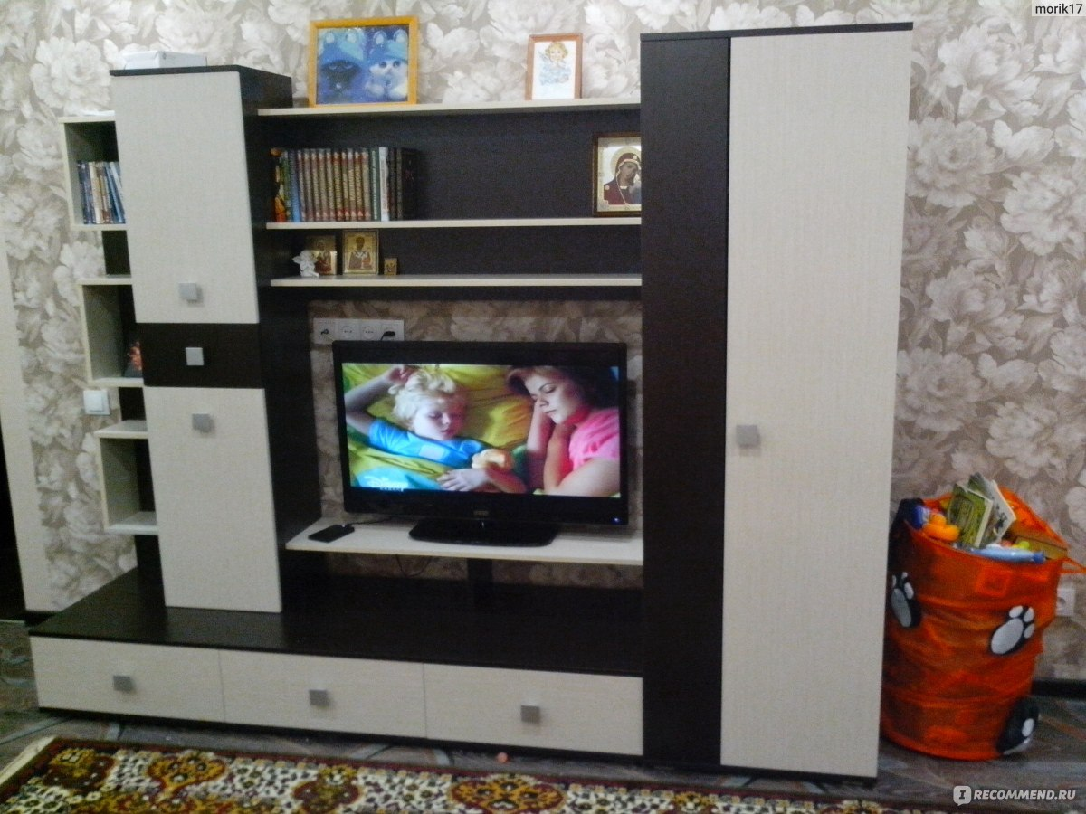 Стенка верона много мебели схема 4