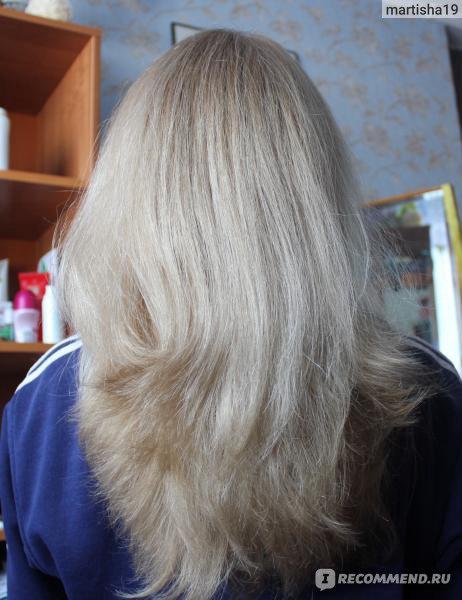 Как сделать русые волосы белыми без краски