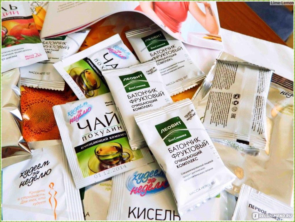 продукты леовит для похудения отзывы