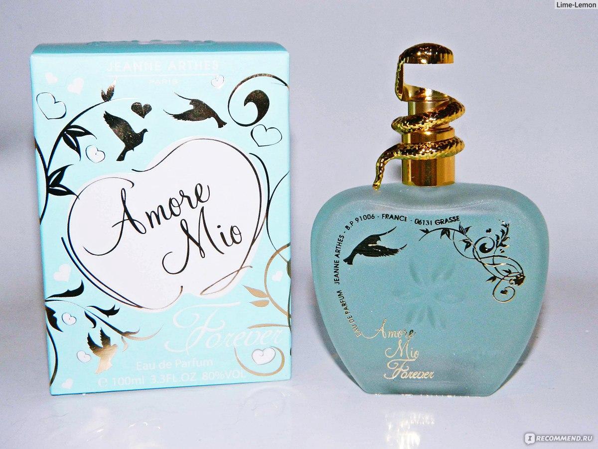 Jeanne Arthes Amore Mio Forever Eau De Parfum For Women Edp 100 Ml