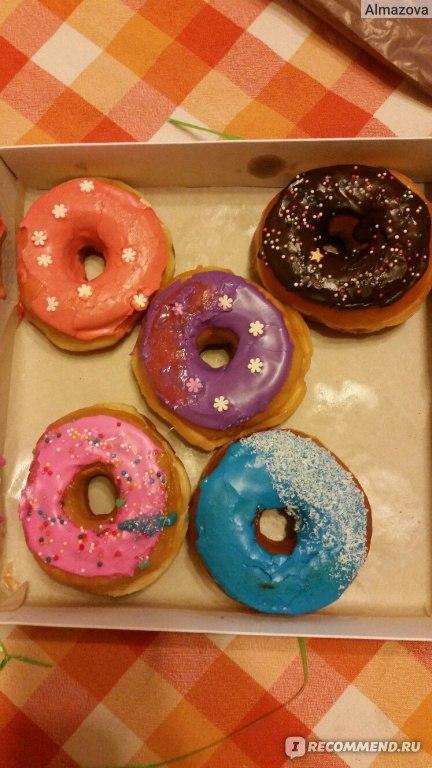 Как сделать дома пончики с глазурью
