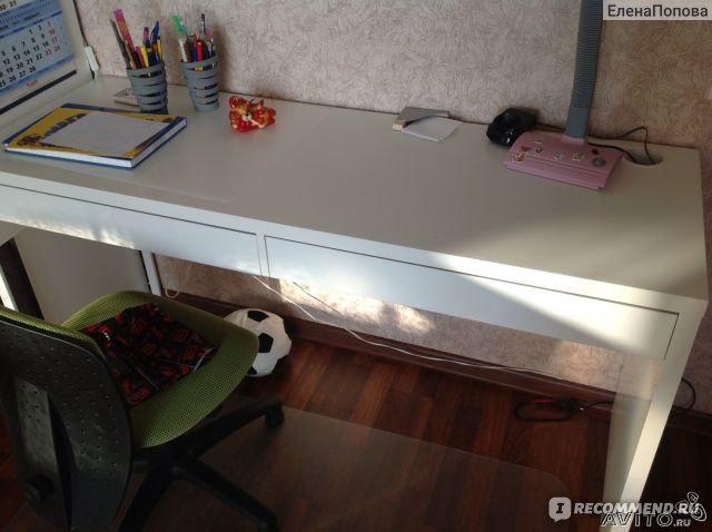 Письменный стол ИКЕА ikea Микке «Удобно просто комфортно