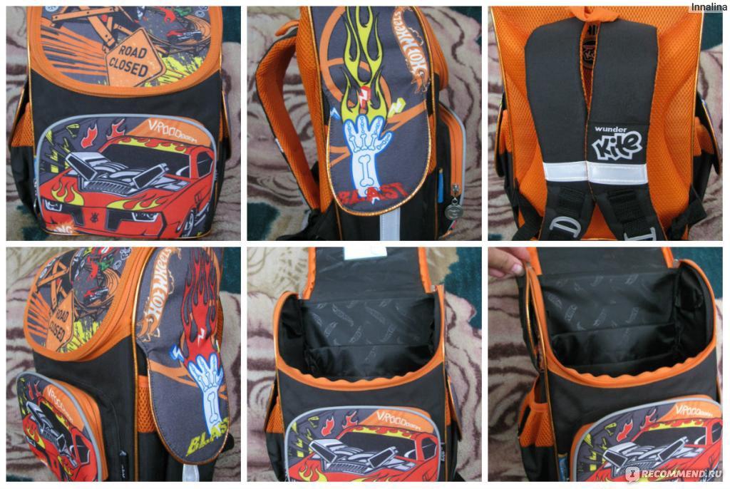 dfc39465bc87 Школьный рюкзак Kite каркасный HOT WHEELS - «Красочный, красивый и ...