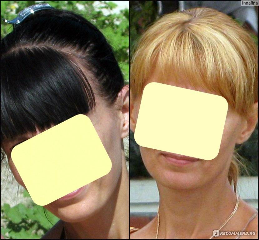 Какая краска лучше осветляет темные волосы без желтизны