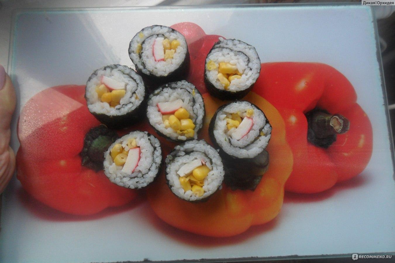 Суши в нори в домашних условиях рецепт