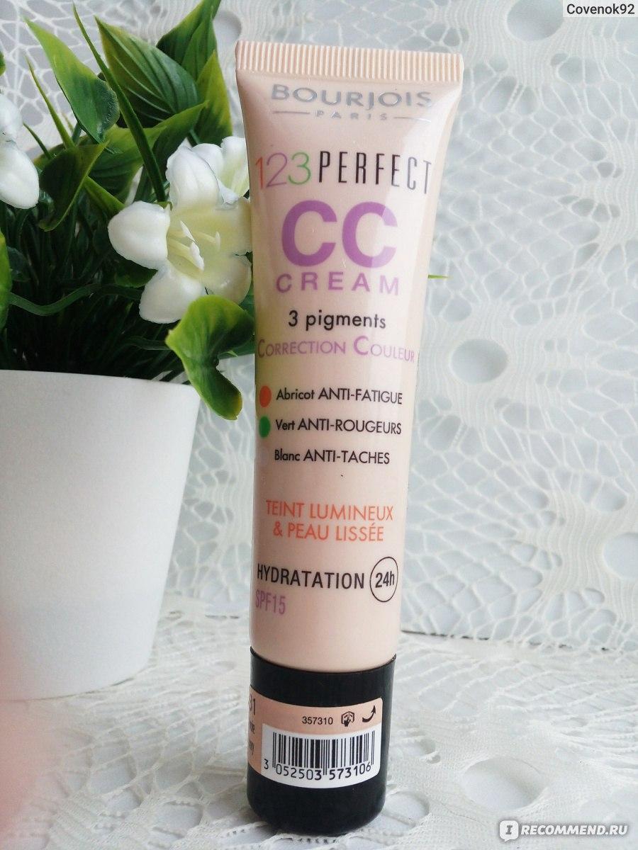 cc cream 123 perfect 357310 тональный крем