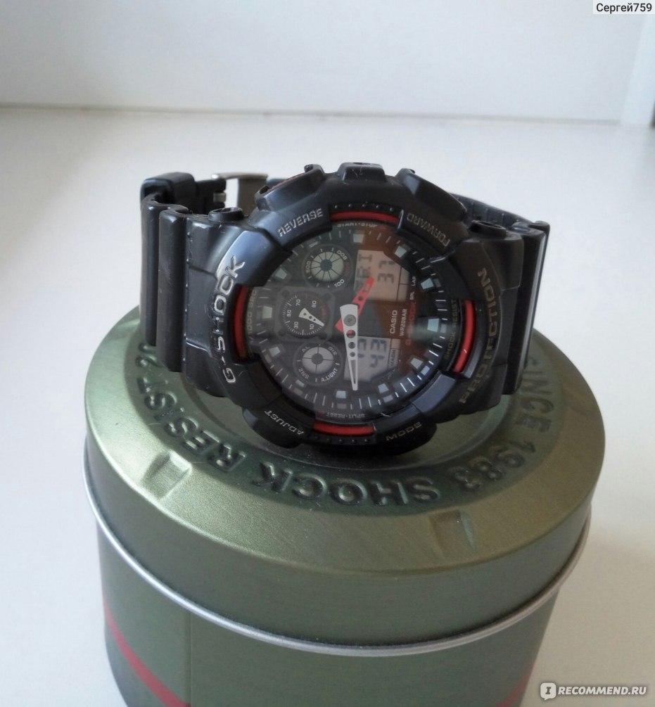8c7e9eddbf0a Наручные часы Casio G-SHOCK GA-100-1A4ER - «Неубиваемые, отзыв после ...
