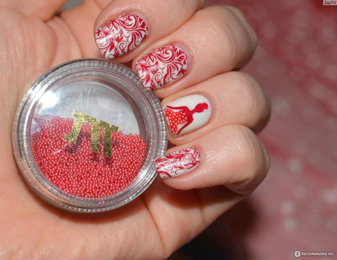 Рисунки на ногтях с бульонками фото